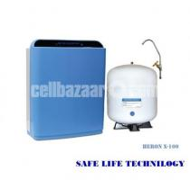 Heron X-100 Blue Intelligent RO water purifier