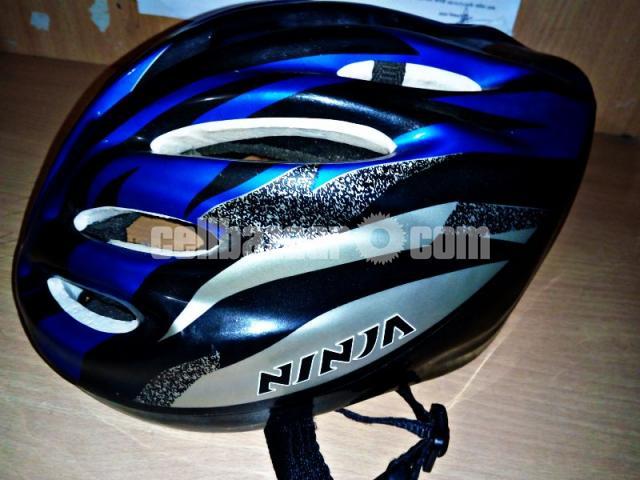 Bicycle Helmet ( Ninja) - 1/2