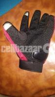 Hand gloves (pro Biker)