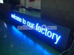 P10 LED Moving Message Display Maker in Dhaka