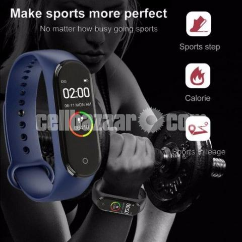 M4 Pro Smart Watch Fitness Tracker Smart Band Waterproof Smart Bracelet - 1/4