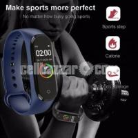 M4 Pro Smart Watch Fitness Tracker Smart Band Waterproof Smart Bracelet - Image 1/4