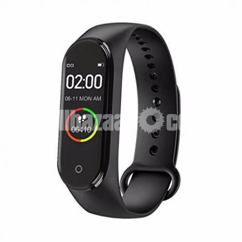M4 Pro Smart Watch Fitness Tracker Smart Band Waterproof Smart Bracelet - 3/4