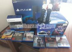 PS4 Pro Playstation 4 Pro 1TB + Playstation VR V2 Headset PSVR V2 + CAMERA - NEW