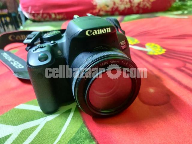 Canon 700D with 50mm prime lens - 3/3