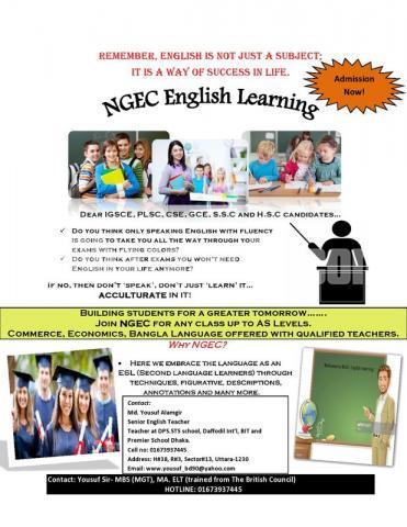 NGEC education - 2/3