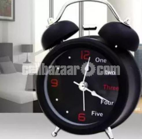 English digital Double Bell Alarm Clock- DNM - 1/1