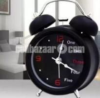 English digital Double Bell Alarm Clock- DNM