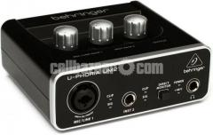 Microphone Audio Interface