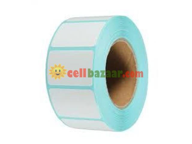 Barcode Sticker Roll - 1/2