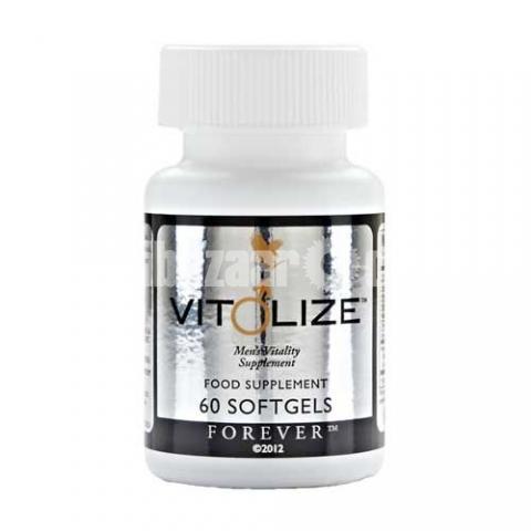 Forever Vitolize Men's Food Supplements 60 Soft Gels - 1/4