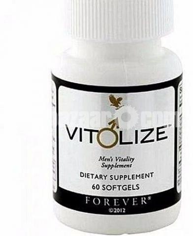 Forever Vitolize Men's Food Supplements 60 Soft Gels - 2/4