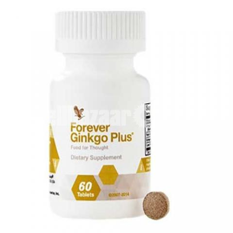 Forever Living Ginkgo Plus 60 Tablets - 4/5