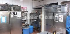 Selling the entire kitchen equipment