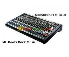 Soundcraft MFXi-20
