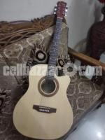 Acoustic Guitar with equalizer