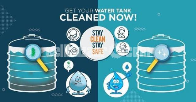 Water Tank cleaning - 3/4