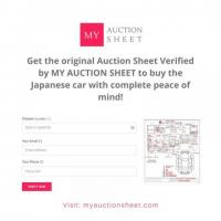 Auction Sheet Verification - Japanese Imported Cars Auctions