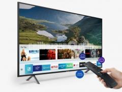 "Samsung RU7100 55"" Flat 4K 20W LED Smart Television"