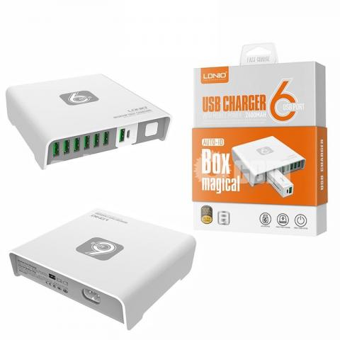LDNIO A6802 6 USB AUTO CHarger - 1/5