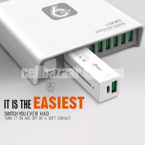 LDNIO A6802 6 USB AUTO CHarger - 2/5