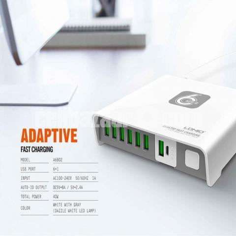 LDNIO A6802 6 USB AUTO CHarger - 5/5