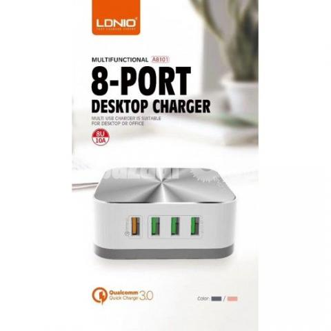 Ldnio A6801 Desktop 6 USB Charger - 1/5