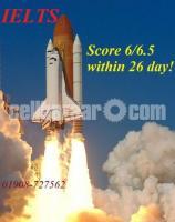 IELTS 6/6.5 Score by 26 days