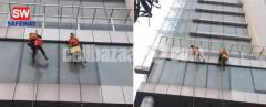 High Building Glass Cleaning
