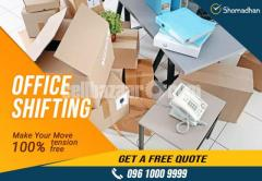 Office Shifting Service Provider in Dhaka