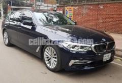 BMW 5 SERIES 530i ROYAL BLUE 2017 REG 2018
