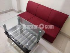 sofa with tea table