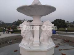 Lion fountain for park or garden