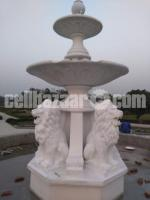 Lion fountain for park or garden