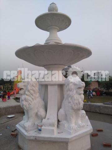 Lion fountain for park or garden - 4/4