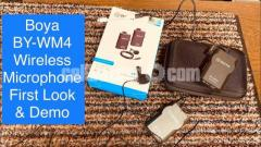 Boya Micro Phone- WM 04