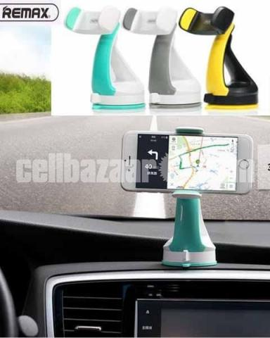 REMAX RM-C15 Car Mobile Phone Holder Desk Stand For Phone 360 Rotation Suction - 4/5