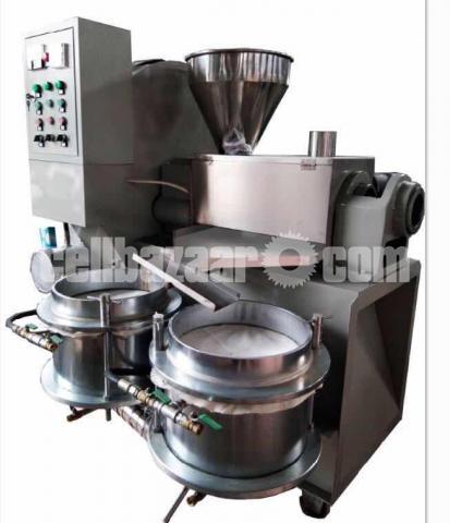 Oil press Machine Commercial - 4/5