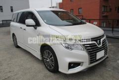 Nissan Elgrand 250 Highway Star S 2017 White