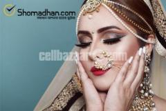 Bridal Makeover Service at Your Doorstep – Shomadhan