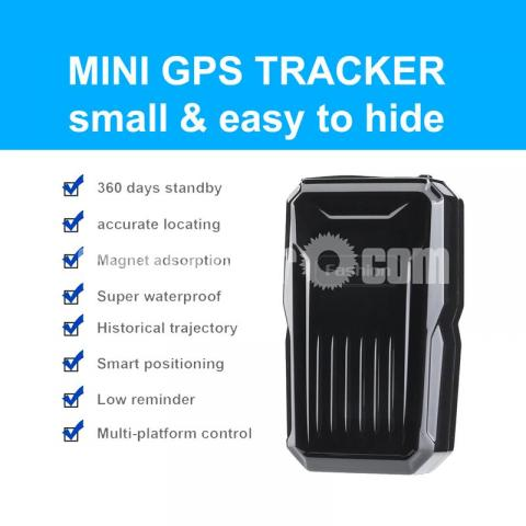 GPS Tracker Live C1 Waterproof Strong Magnetic Spy Device - 1/5