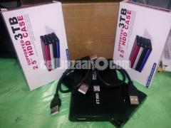 500GB External Hard Drive Disk Storage Devices 2.5'' USB 2.0 SATA High Speed