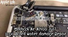"Macbook Air 13""A1466 2017 Logic Board water damage Repair"