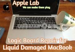"MacBook Retina13"" A1706 2017 Liquid Damage LogicBoard Repair"