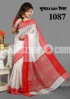 Zoom silk saree with hand blouse