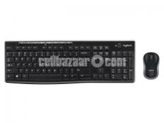 Logitech MK270 Wireless Keyboard and Mouse Combo - Keyboard and Mouse Included, 2.4GHz Dropout-Free