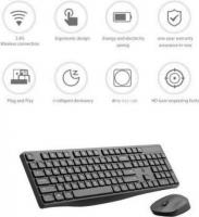 HP CS10 Wireless Multi-Device Keyboard and Mouse Combo (Black)