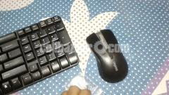 Rapoo X1850 Wireless Keyboard and Mouse Kit Notebook Desktop Business Office Game Keyboard and Mice