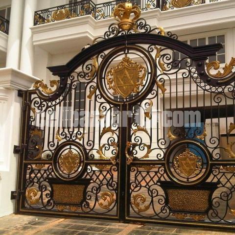 Design main gate - 5/8