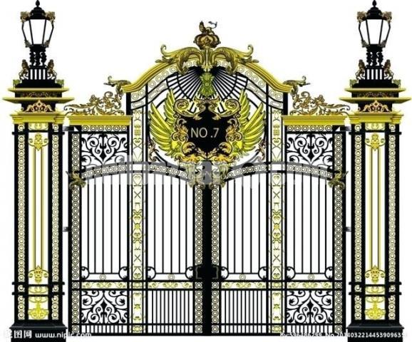 Design main gate - 6/8